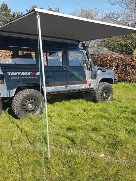Terrafirma Vehicle Awning    2.5m