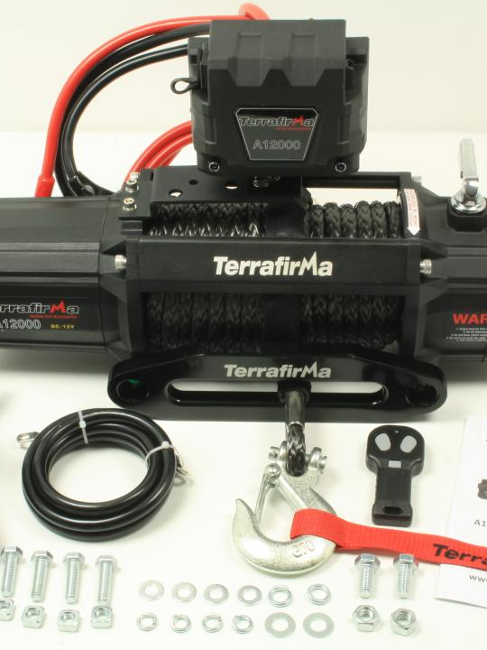 Terrafrima A12000 12volt Electric Winch