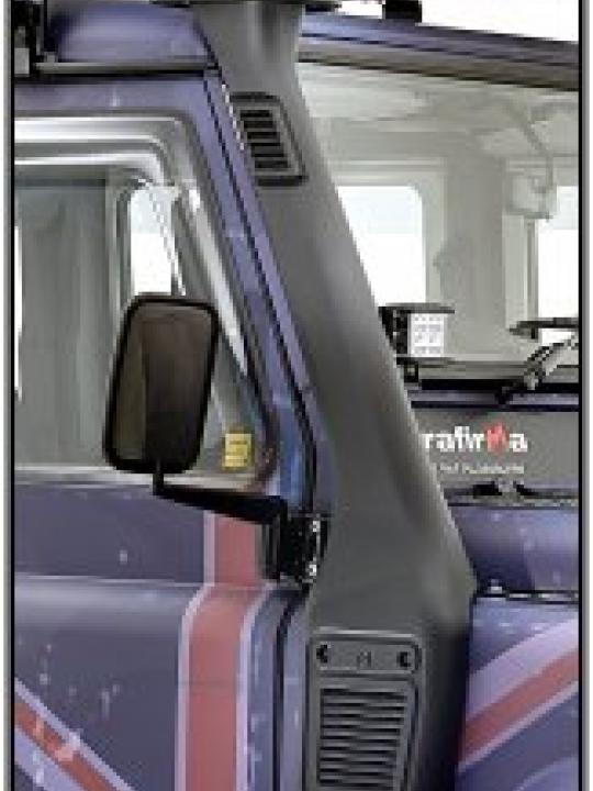 Terrafirma Defender raised air intake